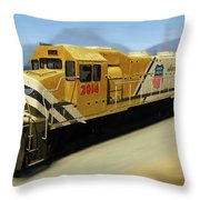 Union Pacific 2014 At Work Throw Pillow