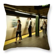 Union Square Station No.1 Throw Pillow