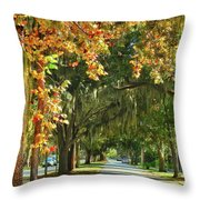Connecting With Your Roots Throw Pillow
