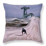 Untapped Throw Pillow