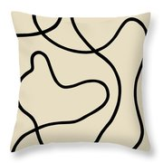 Untitled V Throw Pillow