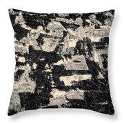 Untitled Ix Toned Throw Pillow by David Gordon