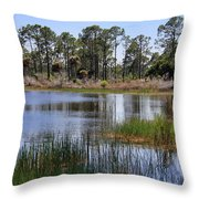 Untouched Nature Throw Pillow