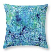 Unwind Throw Pillow