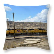 Up 5400 Passing Through Throw Pillow