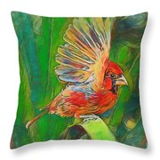 Up And Away Throw Pillow