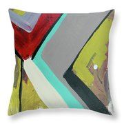 Up The Steps Throw Pillow by John Jr Gholson