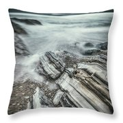Upon The Storm Throw Pillow