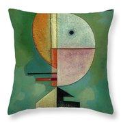 Upward - Empor, 1929 Throw Pillow