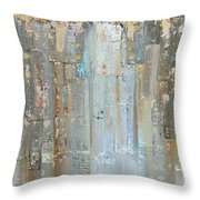 Urban Reflections II Day Version Throw Pillow