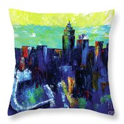 Urban Revisited Throw Pillow