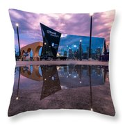 Us Bank Stadium In Minneapolis Throw Pillow