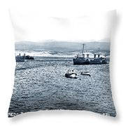 U.s. Destroyers Of The First Division, Torpedo Flotilla, Pacific Throw Pillow by California Views Archives Mr Pat Hathaway Archives