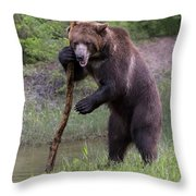 Use The Force Throw Pillow