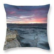 Utah Desert Sunrise Throw Pillow