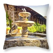 V Sattui Winery 2 Throw Pillow