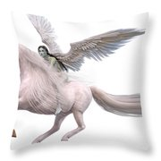Valkyrie Spirit Throw Pillow