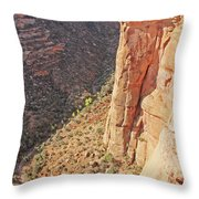 Valley Colorado National Monument 2884 Throw Pillow