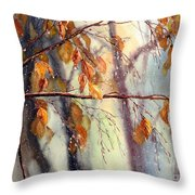 Vanishing Throw Pillow