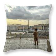 Vaticani View Throw Pillow