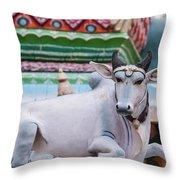 Vedagiriswarar Temple Throw Pillow