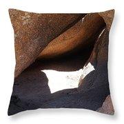 Vedauwoo Natural Cave Throw Pillow