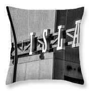 Venice Island - Manayunk - Philadelphia Throw Pillow