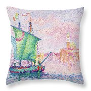 Venice, The Pink Cloud - Digital Remastered Edition Throw Pillow