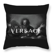 Versace-3 Throw Pillow