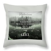 Victory 6 14  Throw Pillow