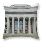 View Of Massachusetts Institute Throw Pillow
