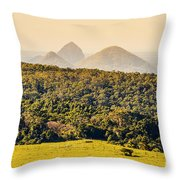 View To The Sunshine Coast Throw Pillow