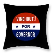 Vinehout For Governor 2018 Throw Pillow