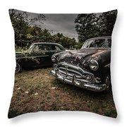 Vintage Cars Goshen Nh Throw Pillow
