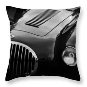 Vintage Fratelli Maserati Bologna Throw Pillow