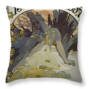 Vintage Poster - L'illustration Throw Pillow