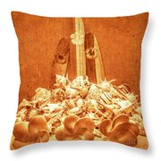 Vintage Summer Still Throw Pillow