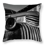 Vintage Truck Jerome Arizona Throw Pillow