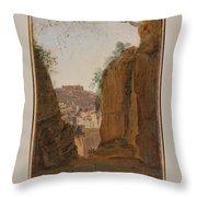 Virgil S Tomb  Naples  Throw Pillow