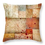Visceral Throw Pillow