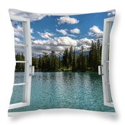 W-77 Throw Pillow