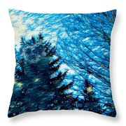 Waiting For October Throw Pillow