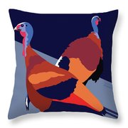 Walking Away From You-cambridge Throw Pillow