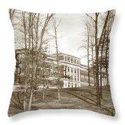 Walter Reed General Hospital Dec. 2, 1924 Throw Pillow