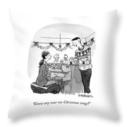 War On Christmas Throw Pillow