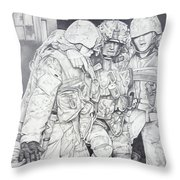 Wartime Loyalty Throw Pillow