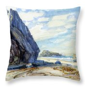 Washed Ashore Throw Pillow