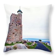 Watchtower Of The Sky Throw Pillow