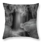 Water And Ice 9 Throw Pillow