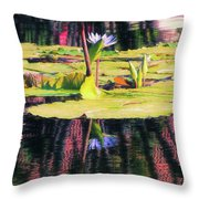 Water Lily 12 Throw Pillow